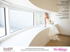 """From the """"Beautiful Works of Art"""" Cover Model Contest feature in the Winter/Spring 2014 issue of Real Weddings Magazine, Photography by www.SharpePhotographers.com © Real Weddings Magazine, www.realweddingsmag.com. To see more, including a full list of all of the professionals on this shoot, visit: http://www.realweddingsmag.com/real-weddings-cover-model-finalist-karmen-henning-beautiful-works-of-art/"""