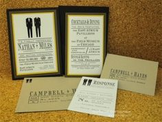 Gay Wedding Invitations and my beef with the Huffington Post