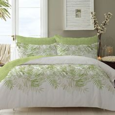 Safdie Fresh Herbs Printed Double Comforter & Shams Set