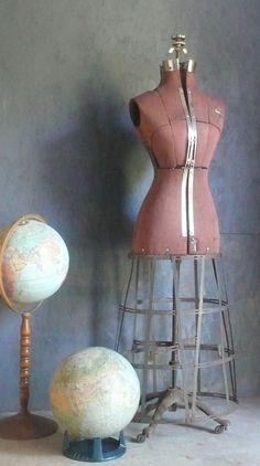 Antique 1910s Acme Dress Form