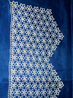 Crochet Curtain Pattern, Crochet Collar Pattern, Crochet Curtains, Curtain Patterns, Baby Knitting Patterns, Crochet Patterns, Bargello, Love Crochet, Crochet Stitches