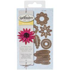 Spellbinders Dies - D-Lites - Create a Flower - Gerber Daisy - SPELLBINDERS