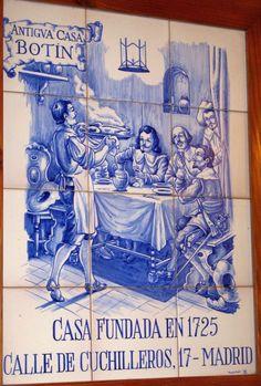 Botin, the oldest restaurant in the world.