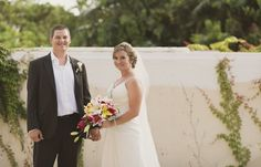Desiree & Matthew's destination wedding in Riviera Maya, Mexico! Mexico destination wedding, beach wedding in Mexico @destweds