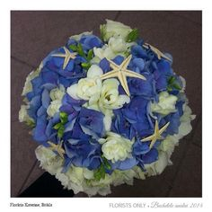 Perfect wedding bouquet for beach wedding.love it