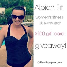 Albion Fit $100 gift card giveaway!  www.lifewithoutpink.com