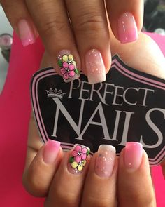 Cute Pedicures, Cute Nails, Pretty Nails, Cute Pedicure Designs, Nail Art Designs, Spring Nail Art, Spring Nails, Perfect Nails, Gorgeous Nails