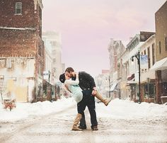 Winter Engagement | Southern Indiana Photographer |Kreations by Kierra Photogrpahy