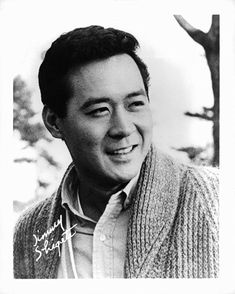 Great Japanese American Actor, James Shigeta June 1929 – July 2014 Hawaiian-born James Shigeta was, for a time, the biggest East Asian U. star the country had known for decades. James Shigeta, Actor James, Japanese American, Asian American, Home Tv, Bruce Willis, Classic Hollywood, Old Hollywood, Hollywood Stars