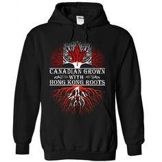 I Love Canadian grown with Hong Kong roots Shirts & Tees