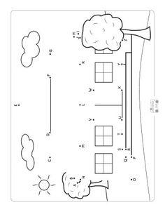 Back to School Dot to Dot Worksheets - Itsy Bitsy Fun Brainstorming Activities, Kindergarten Math Activities, Preschool Writing, Writing Prompts For Kids, Counting Activities, Craft Activities For Kids, Kids Crafts, Kids Writing, Preschool Learning
