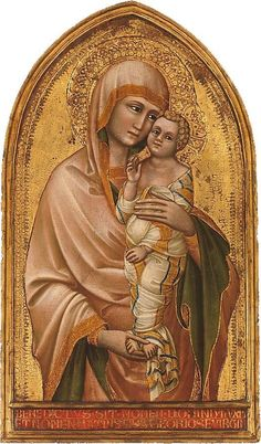 Madonna and Child. Guariento di Arpo (Italian, active Padua by 1338–died 1368/70).
