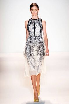 Lela Rose Spring 2013 Ready-to-Wear Runway - Lela Rose Ready-to-Wear Collection - ELLE