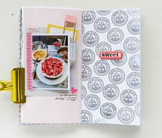 Hey there! Hope you all had a great weekend! We are gearing towards the end of January already. Suddenly everything is becoming ... Project Life Scrapbook, Scrapbook Journal, Travel Scrapbook, Memory Journal, Photo Journal, Junk Journal, Crate Paper, Studio Calico, Travelers Notebook