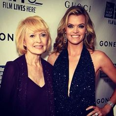 My sis, Missi Pyle, and my mother, Linda Neumann @ the premiere of Gone Girl in LA!