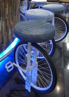 Riciclo bicicletta