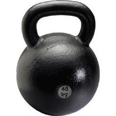 Simple, basic, heavy and fun.  Meet the kettlebell.
