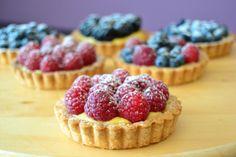 La chica de la casa de caramelo: Tartaletas de frambuesa