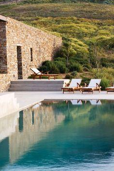 Landscape architect Thomas Doxiadis' version of Greece.