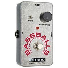 Electro Harmonix NanoBassballs Bass Guitar Effects Pedal