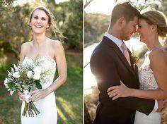 WEDDING   Jake & Jess FLOWERS   Fynbos, king protea, roses PHOTO   Niki M Photography King Protea, Bouquets, One Shoulder Wedding Dress, Roses, Wedding Dresses, Flowers, Photography, Fashion, Bride Dresses