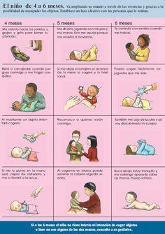 Caperucita Fucsia: Calendario del Desarrollo del Niñ@ (0-18 Meses)