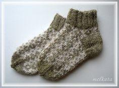 Детские носочки. Socks. Пряжа: 100% шерсть.