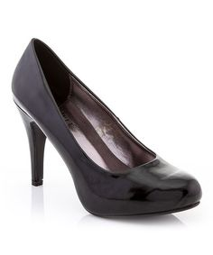 Another great find on #zulily! Black Patent Pump #zulilyfinds