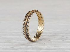 Engagement Rings & Wedding Rings : Delicate 'Quill' Wedding Band from Erstwhile Jewelry – Mon Cheri Bridals Stacked Wedding Bands, Diamond Wedding Bands, Deco Engagement Ring, Diamond Engagement Rings, Best Diamond, Diamond Cuts, Wedding Jewelry, Wedding Rings, Gold Wedding