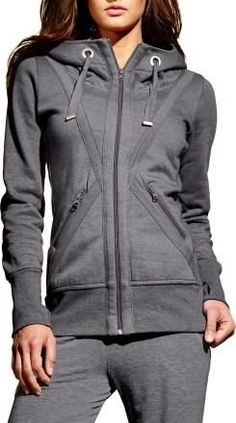 Ribbed at the hem and cuffs to offer a great fit during exercise, the MPG Valencia hoodie jacket for women offers all the softness of your favorite casual hoodie with a fitness-focused design.