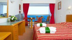 HHotel Blue Sky, Rodos, Grecia Creta, Sky, Curtains, Blue, Home Decor, Heaven, Blinds, Decoration Home, Room Decor