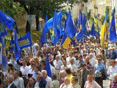 AntiVänsterBloggen: Svenska nationalister på plats i Kiev Ukraina