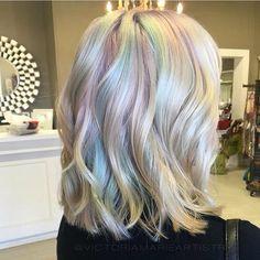 ✦✧ Pinterest: dopethemesz ; iridescent dreams ; opalescent hair ✧✦