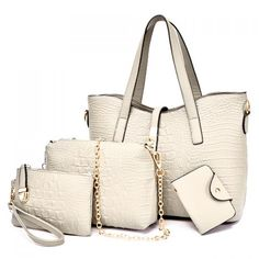 6a8542b183 Stylish Crocodile Print and Metal Hasp Design Women s Shoulder Bag Cheap  Bags