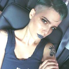 Grey Lipstick Grey Lipstick, Septum Ring, Tattoos, Jewelry, Fashion, Moda, Tatuajes, Jewlery, Schmuck