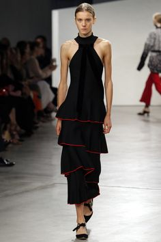 Proenza Schouler Spring 2016 Ready-to-Wear Fashion Show - Charlotte Lindvig