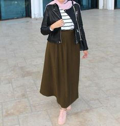 Summer maxi skirts with hijab – Just Trendy Girls
