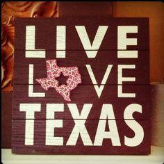 I said I was done with the Texas decor in our apt, but I could go for this.