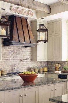 Traditional Kitchen with Inset cabinets, Premier Copper Products 38W in. Euro Wall Mounted Range Hood with Baffle Filter