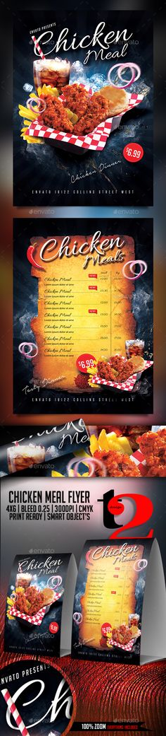 Chicken Meal Flyer Template