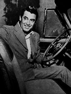 Cary Grant, yes, I would go any where he would care to drive me..