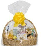 """Cakesupplyshoppackaged 10pack Clear Cello/cellophane Bags Gift Basket Packaging Bags Flat- 24"""" X 30"""" - http://tonysgifts.net/2015/03/04/cakesupplyshoppackaged-10pack-clear-cellocellophane-bags-gift-basket-packaging-bags-flat-24-x-30/"""