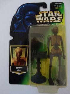 Green card Figura 1997 STAR Wars POTF Nien nunb