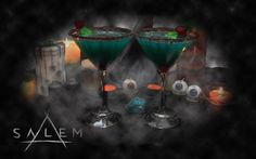 My take on a Witches' Brew Cocktail, perfect for the premiere of @SalemWGNA S2 right fellow #Heathens ?  #Salem