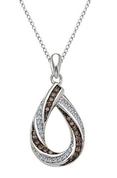 .25 ctw Chocolate Cognac Brown Diamond Necklace .925 Sterling Silver Donna T,http://www.amazon.com/dp/B00BCMP1NQ/ref=cm_sw_r_pi_dp_RSPetb09Q9J8YPWD