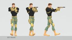 """Reel Breakdown:  """"Knife Attack"""" personal in-game melee attack test shot 1 - all key frame animation done in Maya  """"Tennis Serve"""" personal test shot 2 - all key frame animation done in Maya  """"Air"""" personal test shot 3 - all key frame animation done in Maya  """"Pistol Walk Cycle"""" personal test shot 4 - all key frame animation done in Maya  """"Knight Run cycle"""" personal test shot 5 - all key frame animation done in ..."""