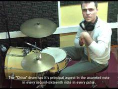 Breve explicación sobre como interpretar Candombe en la batería.