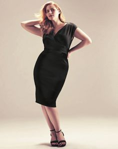 8 Amazing #Fashion #Tips for Curvy Women - Sheath #dresses are great options