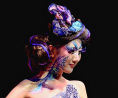 This is for you Heather! Sea Creature Makeup