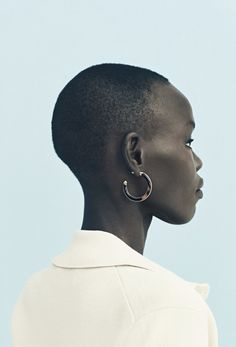 Grace Bol photographed by Nicolas Kantor for Ann Taylor